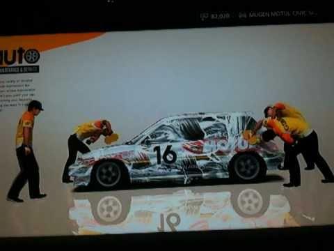 Gran Turismo 5 Car Customize And Tuning Honda Civic Youtube
