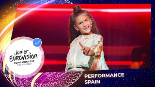 Spain 🇪🇸 - Soleá - Palante at Junior Eurovision 2020