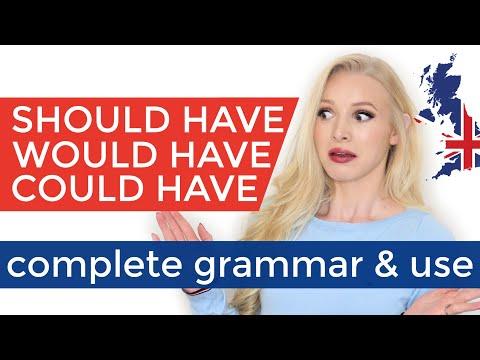 Download SHOULD'VE   WOULD'VE   COULD'VE - Complete Grammar & Use