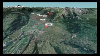 Tour de Romandie 2010: survolez l'étape 5 en vidéo 3D!