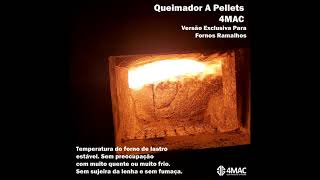 Borus Queimadores de pellets aquecendo Fornos Ramalhos