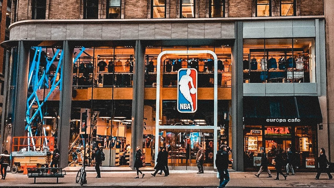 official photos dd2b2 c028e FOMOS NA NBA STORE DE NOVA YORK !
