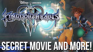 Kingdom Hearts 3 News - Secret Movie, Team Attacks and More!