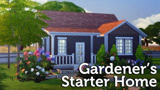 The Sims 4 Speed Build: Gardener's Starter Home