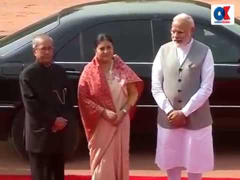 Nepal President accorded guard of honour at Rashtrapati Bhawan