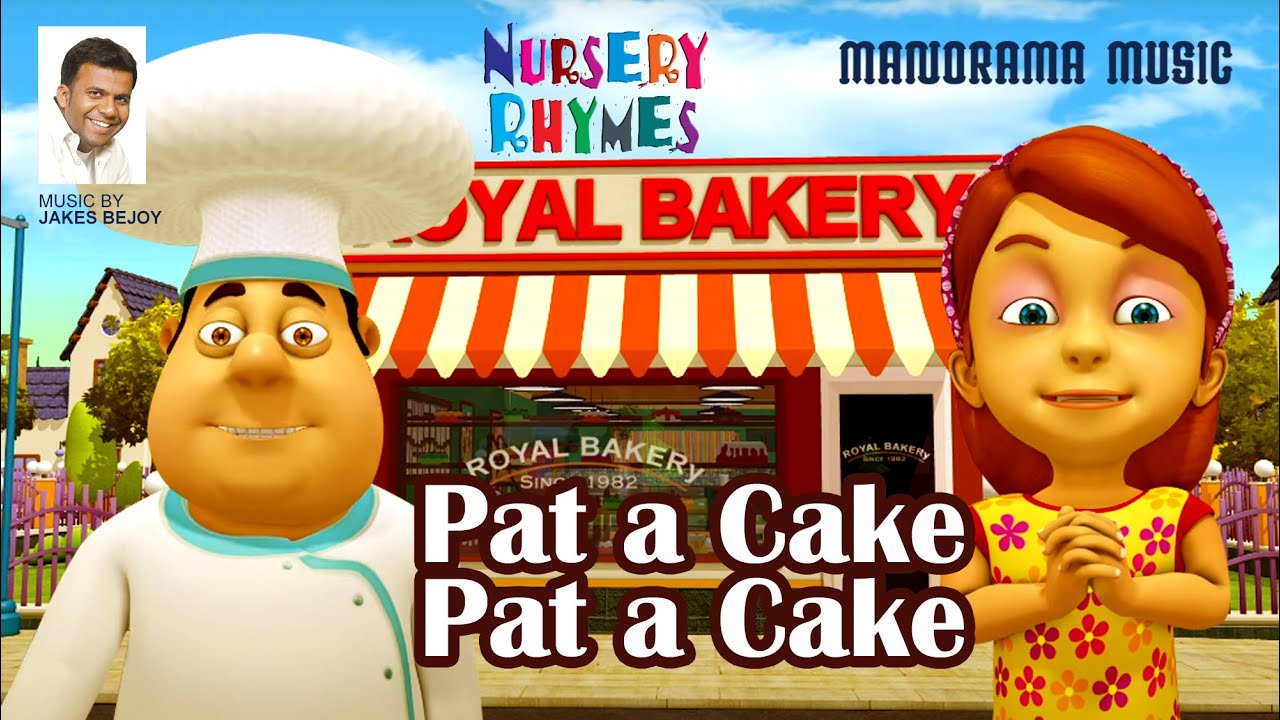 Pat a Cake Pat a Cake | English Nursery Rhymes | Jakes Bejoy | Children Rhymes