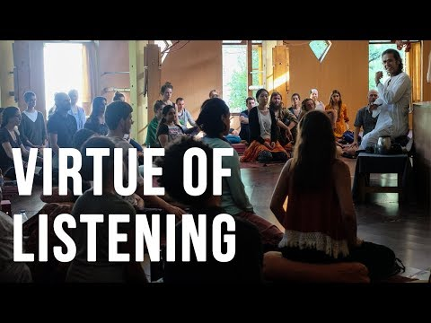 HIMALAYAN IYENGAR YOGA CENTRE - VIRTUE OF LISTENING