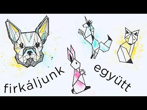 Geometrikus állatok - Firkáljunk együtt! mp3 letöltés