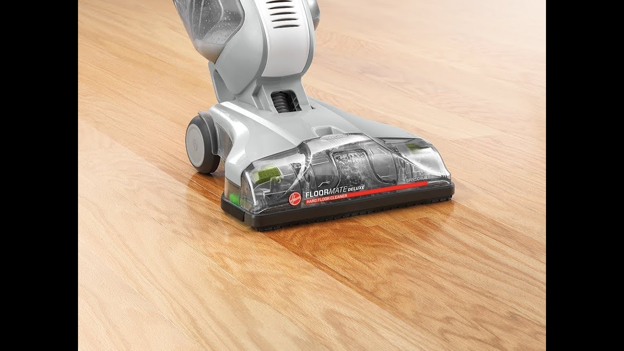 Hoover Floormate Deluxe Hard Floor Cleaner Reviews Youtube