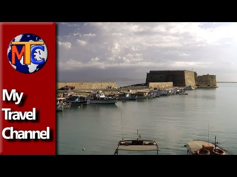 One minute in Heraclion, Crete ✔