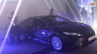 Презентация Toyota Camry 70. Astana Motors.