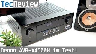 [REVIEW] Denon AVR-X4500H - AV-Receiver im Test!   TecReview   deutsch   4K