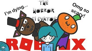 AGGGHHHH! - Roblox, the horror elevator *Halloween Special* X-X