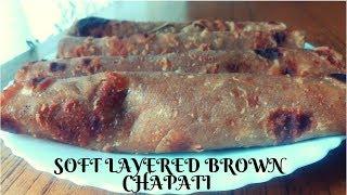 How to make brown chapati-Kenyan