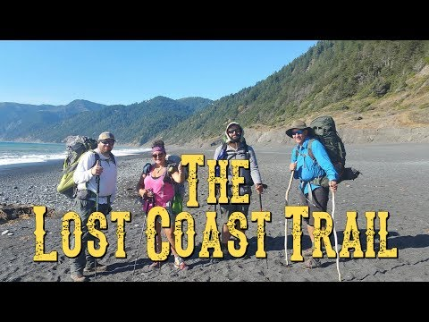 Backpacking The Lost Coast Trail  Northern California