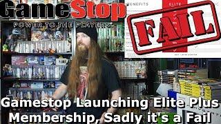 Gamestop Launching Elite Plus Membership, Sadly it