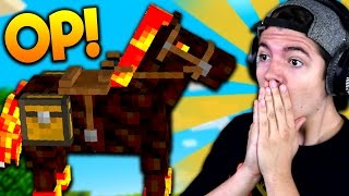 HORSES ARE OVERPOWERED! | Minecraft UHC HUNGER GAMES with Preston & Kenny