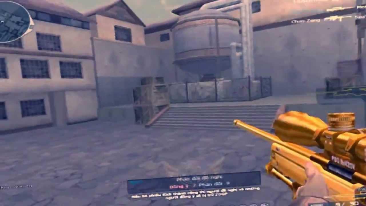 Thay đổi phong cách bắn sniper