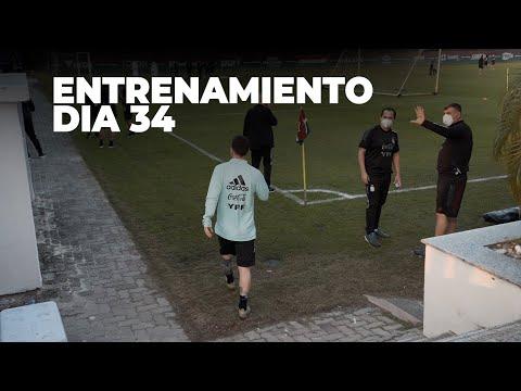 #SelecciónMayor Primer entrenamiento en Rio pensando en la final. ¡Vamos Argentina!