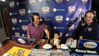 Dunc and Holder on Sports 1280 in New Orleans. February 14, 2018