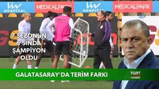 Galatasaray'da Terim Farkı