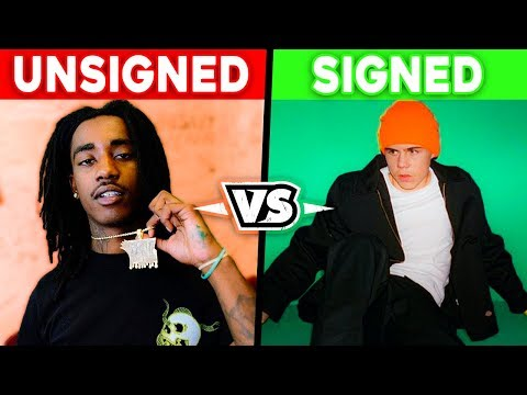 UNSIGNED RAPPERS VS SIGNED RAPPERS!!