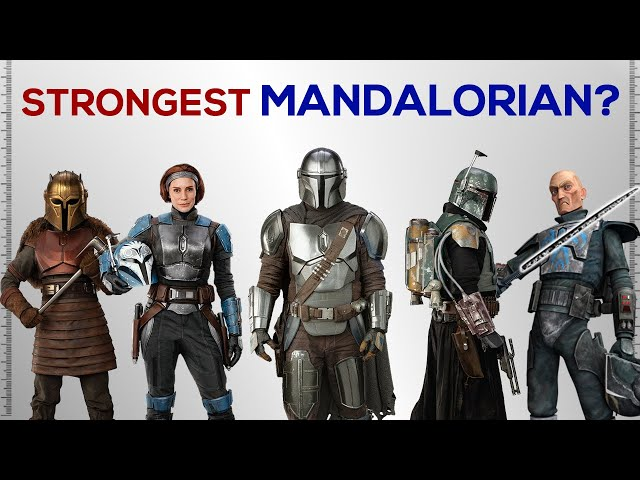 Strongest Mandalorian in the Galaxy