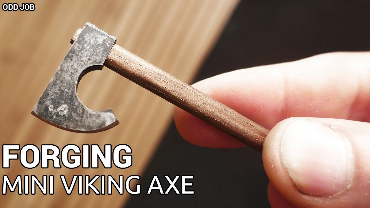 Forging Mini Viking Axe