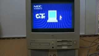 NEC PC-9821 Cb CanBe Windows3.1 起動