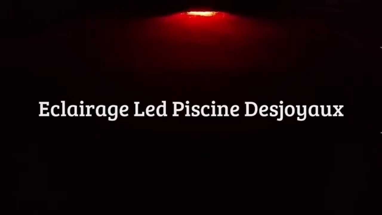 Eclairage led piscine desjoyaux 2 liner gris fonc youtube for Piscine desjoyaux