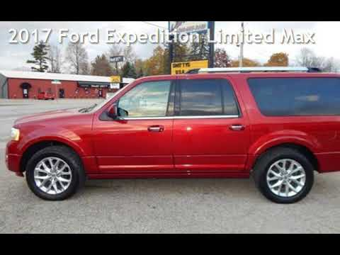 2017 Ford Expedition Limited Max for sale in Angola, IN