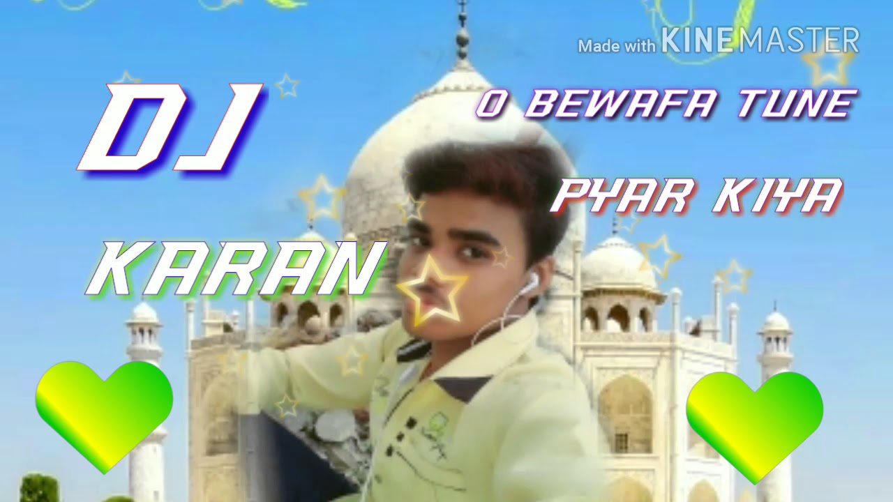 O bewafa tune pyar kiya ya maar diya (dholki mix ) hindi dj remix by dj  karan sherpur para