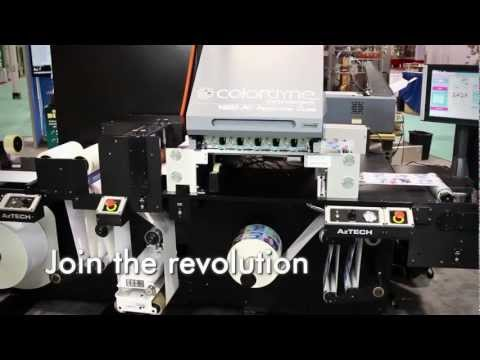 CDT-1600 PC: Colordyne Production Class Printing System Powered by Memjet