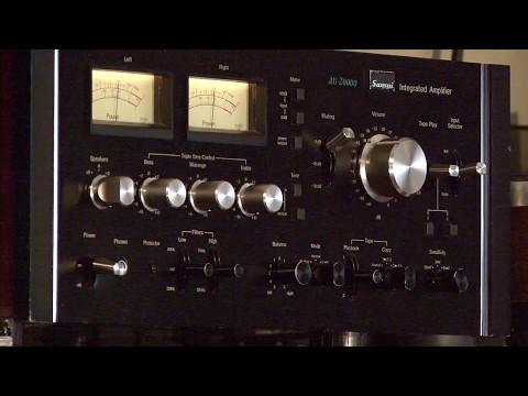 Arthur Blythe - Sansui au 20000 - Mirage M-1si loudspeakers