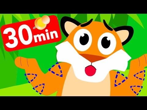 Where Are My Stripes? Tiger Boo Boo Lost Them! by Little Angel: Nursery Rhymes & Kid's Songs