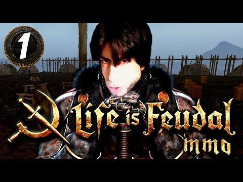 El NACIMIENTO de MAYORIA | LIFE IS FEUDAL MMO #1
