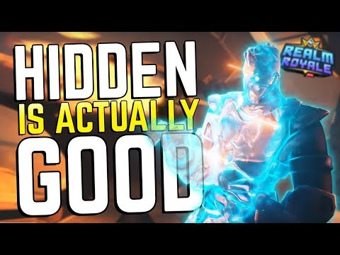 Hidden is GOOD NOW?!   Realm Royale Assassin Gameplay