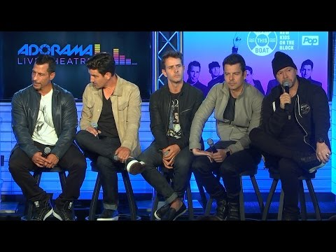 New Kids On The Block Live Q&A