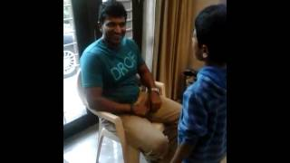 Download Hindi Video Songs - Balaji singing in front of Puneeth Rajkumar during ganesha festival in sadhashivAnagar house