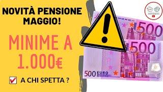 NovitÀ! Aumento Pensioni Minime Maggio-giugno! Si...ma Per Pochi  2020
