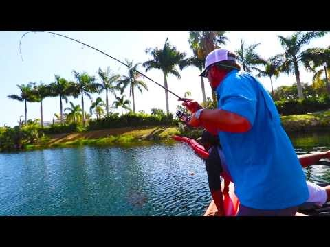 Fishing For GIANT Peacock Bass In Miami