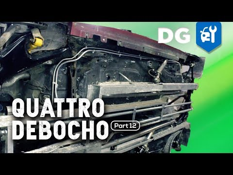 Reengineering Explained: Boosting & Cooling An Audi Quattro Race Car (Part 12)