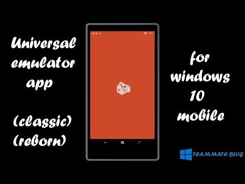 Universal Emulator   Play All Classic Games   Windows 10 Mobile