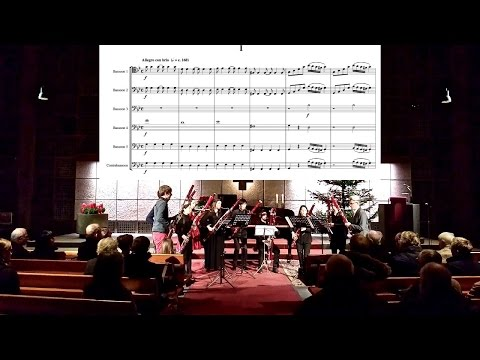 KOR - Mozart Symphony no. 25, for Bassoons & Contrabassoon