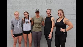 #557 Strong Daughters Eva and Hannah! Crossfit Competition