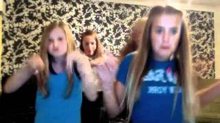 Lottie and Felicite Tomlinson and friends dancing to my cover of super bass