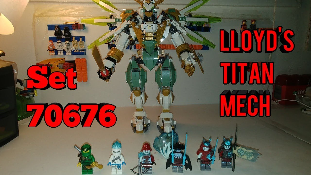 Ninjago 70676 Lloyd S Titan Mech Review Youtube