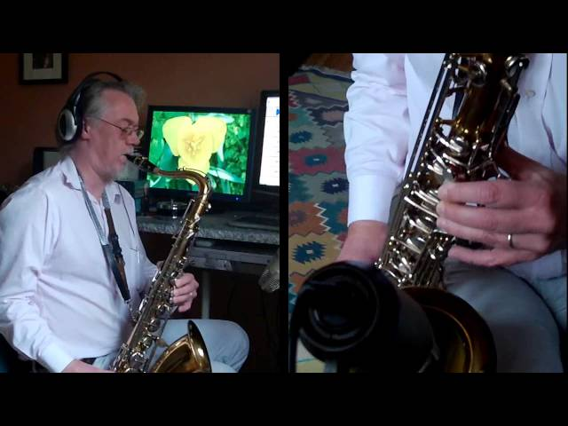 Hallelujah - B&S Blue Label tenor saxophone - Vandoren Jumbo Java T97 - Fibracell #3 Travel Video