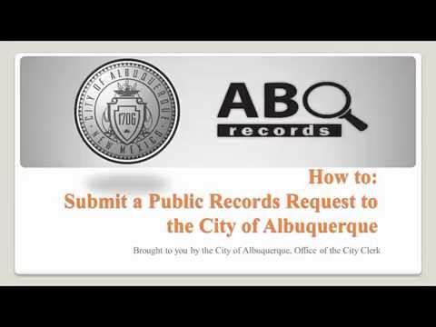 ABQ Records — City of Albuquerque