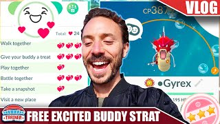 BEST BUDDY IN 14 DAYS! FAST *EXCITED BUDDY* STRATEGY! NO POFFIN NEEDED